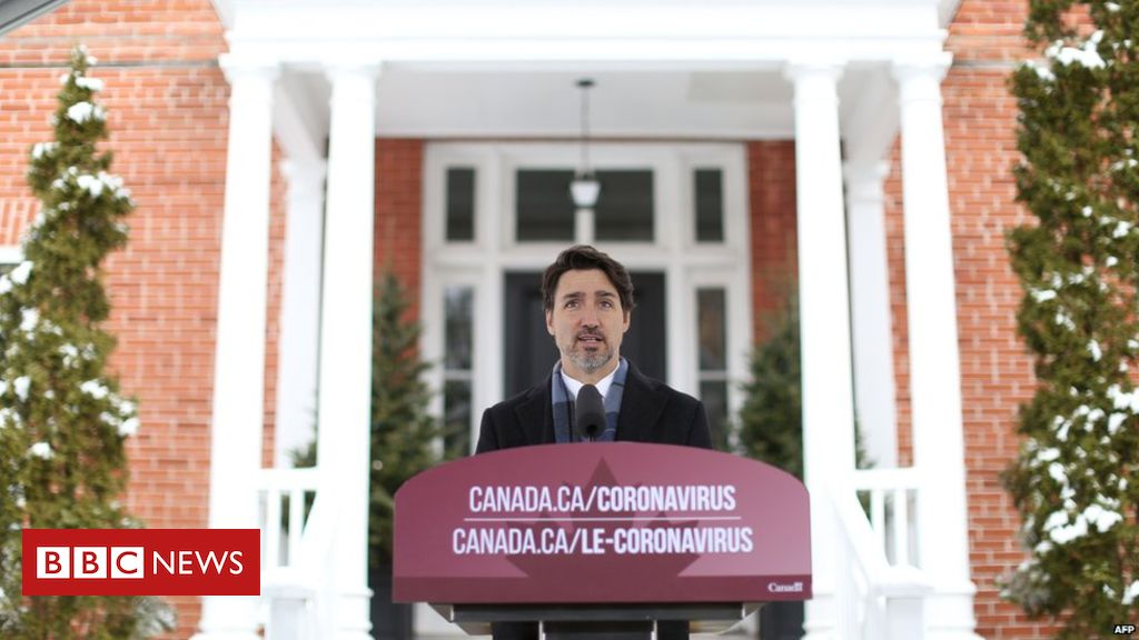 Justin Trudeau hosts conference on corona virus response plan